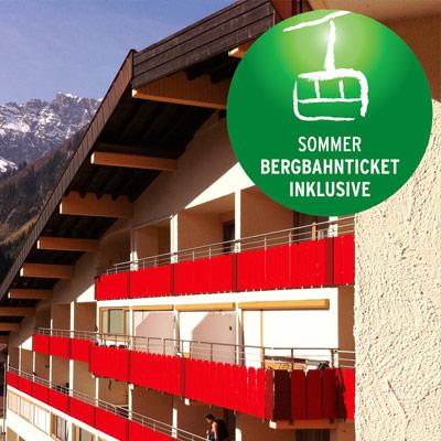 Bergbaanticket - Appartementen Klein Walsertal
